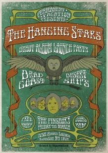 HangingStars Launch Web poster